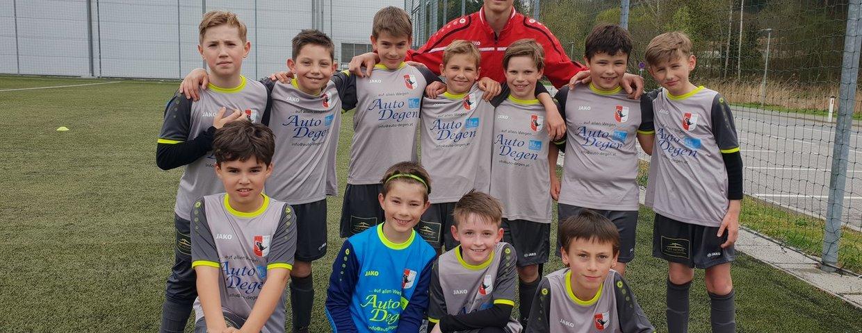 U11 B - Heimsieg gegen Liebenau im ersten Spiel