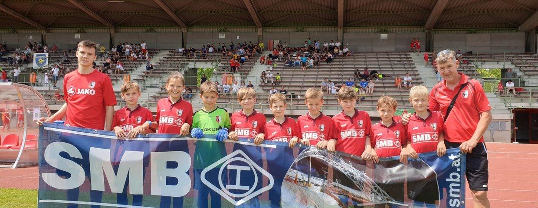U10 - mit neuen SMB Dressen zur Champions Trophy
