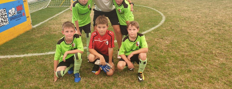 Rasen-Soccer Turnier in Liebenau - 3 Platz für unsere U10