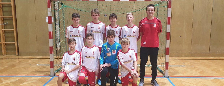 Sensationeller 2 Platz unserer U14 beim Futsalturnier in Frohnleiten