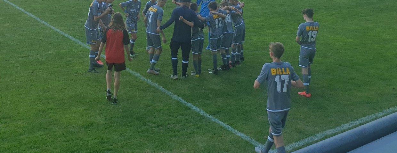 Wochenendrückblick - U15 Derbysieg gegen Lahö......