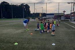 Fußballkindergarten SV SMB Pachern wieder voll im TRAINING