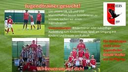 Jugendtrainer gesucht!